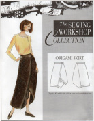 The Sewing Workshop Origami Skirt Sewing Template, Multi-Size