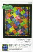 Gone Scrap Crazy quilt pattern by Karen Montgomery