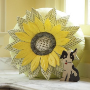 Anna Griffin Sunflower Pillow Sewing Pattern - 60cm Round