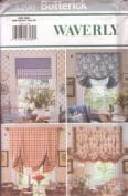 UNCUT & OOP BUTTERICK 5290 WAVERLY WINDOW SHADES SEWING PATTERN