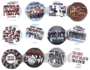 SUPER JUNIOR kpop fan Awesome Quality Lot 12 New Pin Pinback Button Badge 3.2cm