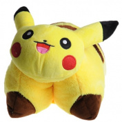 FS Pokemon Pikachu Transforming Pillow / Pikachu pillow pet