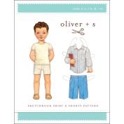 Oliver + S Sketchbook Shirt and Shorts