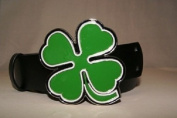 Irish Shamrock Clover Belt Buckle