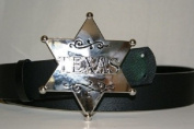 Texas Longhorn Star Belt Buckle