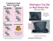 "Wellington or ""Mad Hatter"" Top Hat Pattern"