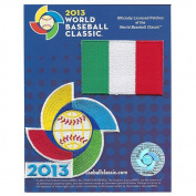 2013 World Baseball Classic Sleeve Jersey Patch Pack Team Italy