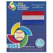 2013 World Baseball Classic Sleeve Jersey Patch Pack Team Netherlands