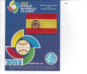 2013 World Baseball Classic Sleeve Jersey Patch Pack Team Spain