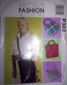 McCall's P302 Handbags, Purses, Shoulder Messenger Bags