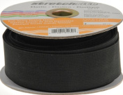 Stretchrite 3.8cm by 10-Yard Black Heavy Stretch Knit Elastic Spool