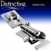 Distinctive Binder Sewing Machine Presser Foot - Fits All Low Shank Snap-On Singer*, Brother, Babylock, Euro-Pro, Janome, Kenmore, White, Juki, New Home, Simplicity, Elna and More!