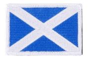 Matrix hook and loop Scotland Flag Patch