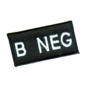 Matrix Military Spec. 50mm Blood Type Patch whook and loopB NEG