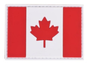 PVC hook and loop Flag Patch - Canada