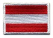 Matrix hook and loop Austria Flag Patch