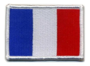 Matrix hook and loop France Flag Patch