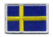 Matrix hook and loop Sweden Flag Patch