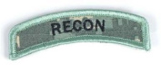 Matrix Recon Tab hook and loop Backed Morale Patch