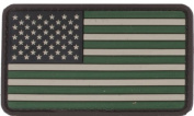 US Flag PVChook and loopRubber Patch - Regular / Foliage