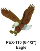 15cm - 1.3cm Embroidered Animal Patch Eagle