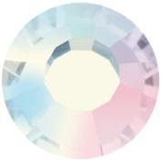 Mode Beads Preciosa Crystal Rhinestone Flatbacks, Crystal AB