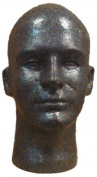 Male Head, Styrofoam Graphite
