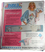Daisy Kingdom 5103 Boni's Bunnies + Bears Women's Oversized Shirt Kit Bears on a Quilt