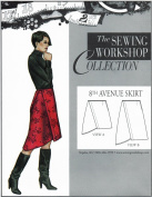 The Sewing Workshop 8th Avenue Skirt Sewing Template, Multi-Size