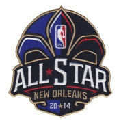 2014 NBA Basketball All Star Game Patch New Orleans Pelicans