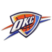 Oklahoma City Thunder Embroidered Team Logo Collectible Patch