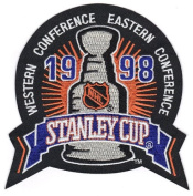 1998 NHL Stanley Cup Final Logo Jersey Patch