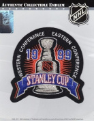 1999 NHL Stanley Cup Final Logo Jersey Jersey Patch Dallas Stars vs. Buffalo Sabres