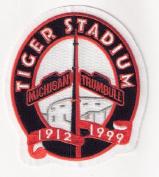 1999 Detroit Tigers Stadium Closing Final Season Sleeve Jersey Logo Emblem Patch