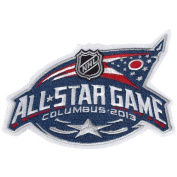 2013 NHL All-star Game Patch In Columbus Blue Jackets