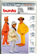 Burda 2807 Child's Costume Pattern, Farm Animals