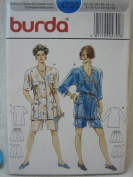 Burda Pattern 4791 Womens' Jacket and Bermuda Shorts