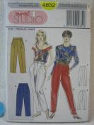 Burda Pattern 4852 Womens' Pants