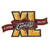 Cleveland Cavaliers 40th Anniversary 'XL' Logo Patch