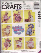 Water Babies Doll Clothes Pattern 6368