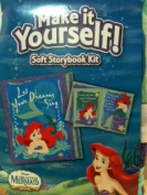 Disney's The Little Mermaid Make It Yourself! Soft Storybook Kit..Let Your Dreams Sing