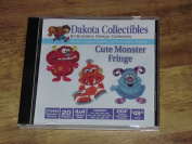Dakota Collectibles Cute Monster Fringe