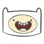 Adventure Time Finn Licenced Cartoon Network Cool White Belt Buckle