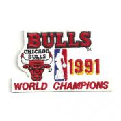 NBA Chicago Bulls Logo Patch - 1991 Champions
