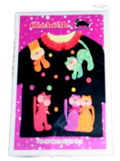 CleoAndMe Pattern #S-16 Cats Night Out Size One