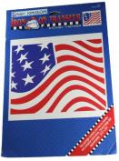 Daisy Kingdom Iron-On Transfer Flag 27cm x 21cm