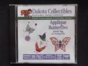 Dakota Collectibles Applique Butterflies
