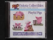 Dakota Collectibles Playful Pigs
