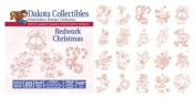 Dakota Collectibles Redwork Christmas