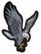 "Eagle Embroidered Back Patch 20CM x 29CM (8"" X 11"")"